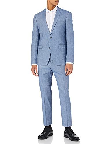 ESPRIT Collection Herren 031EO2M302 Anzüge, 434/BLUE 5, 54