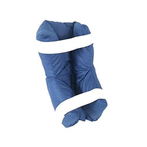 Talonera de fibra hueca siliconada, TAKIMED, antidecúbito, codera de fibra hueca siliconada, talla única, ambidiestro, producto ortopédico, fabricado en Italia.