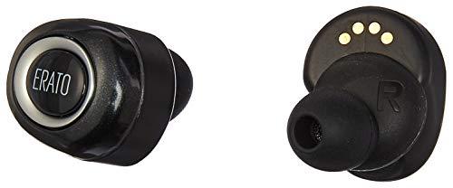 ERATO Muse 5 - kabellose Lifestyle Bluetooth Kopfhörer mit FitSeal & 3D Surround Sound - Schwarz