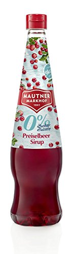 Mautner Markhof Preiselbeer 0% Zucker Sirup