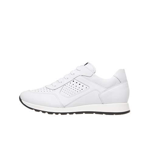 NeroGiardini P933580M Sneakers Teens Chico De Piel - Blanco 32 EU