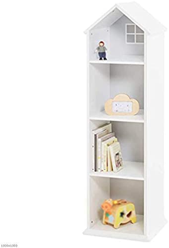 caliente ZHAS Librería Estantería Estantería Estantería de pie para Estudiantes Librería Creativa (Color  blanco)  buscando agente de ventas