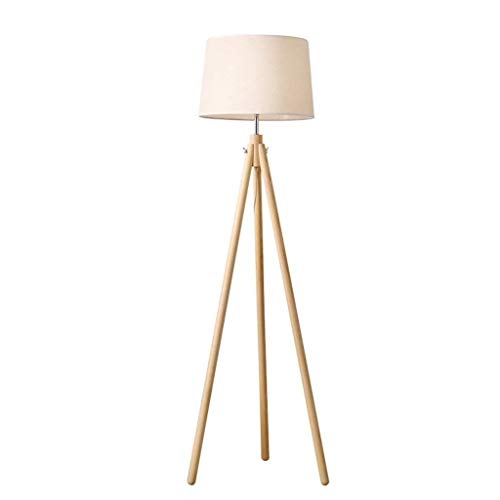 Floor Lamp Bright Torchiere Tripod Modern Floor Lamp, LED Floor Lamp-Classic Arc Floor Lamp with Hanging Lamp Shade, Farmhouse Industrial Light for Bedroom, Office, Study Room, Energy Saving Bedside L
