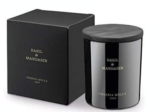 Vela aromática Basil & Mandarin +/-50 horas - Cerería Mollá 1899 - Artepal Aromaterapia