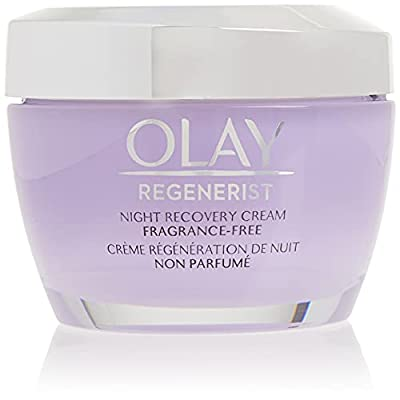 HABA Hub Night Cream by Olay Regenerist Night Recovery Cream & Face Moisturizer, 1.7 Ounce, Procter & Gamble