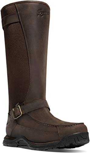Danner Men's Sharptail Snake Boot 17 Inch Dark Brown Hunting Boot , 10.5 D(M) US