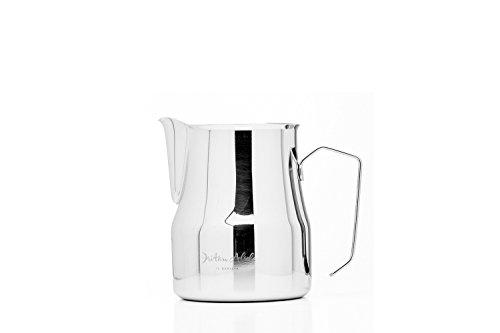 Dritan Alsela Professionale Bricchetto per Latte, Antiaderente, lattiera in Acciaio Inox 500ml