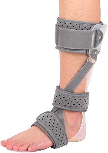 Ortesis de Tobillo y pie 3 en 1 Soporte de corrección postural de pie con caída médica Soporte AFO para caída de pie con Movimiento-Derecho_Metro Well