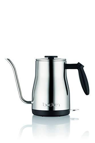 BODUM BISTRO Gooseneck water kettle, 1.0 l, 34 oz, 1200W, 11940-16UK, black