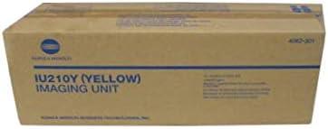Konica Minolta Genuine Brand Name, OEM 4062301 (4062-301) Yellow Imaging Unit (IU210Y) (45K YLD) for Bizhub C250, C252 Printers