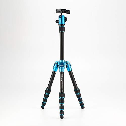 MeFoto A035Q0B Backpacker Kompakt Stativ kit 0 in Aluminium blau