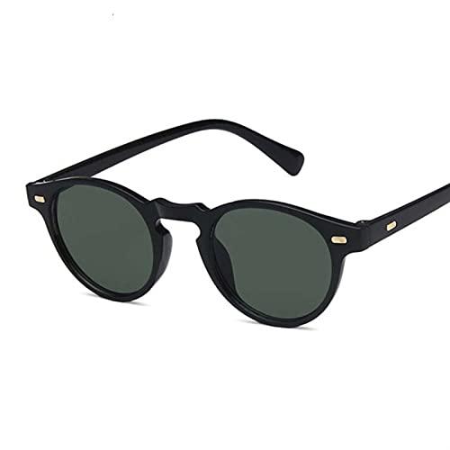Fashions Oval Small Sunglasses Clear Classic UV400 Gafas de Sol Femeninas Tonos Transparentes para Mujeres ma (Color : 1, Size : D)