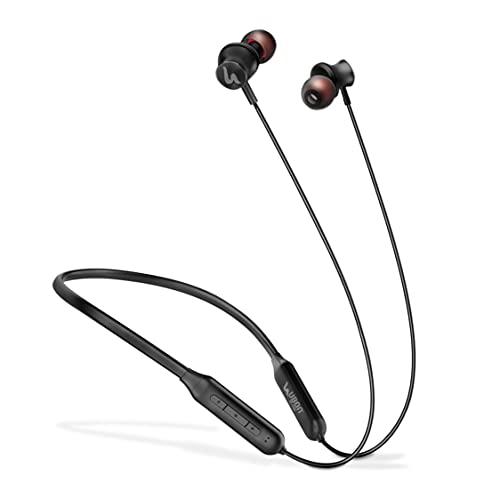 UBON BT-5100 Truly Wireless Bluetooth In Ear Neckband Earphone with Mic (Black)