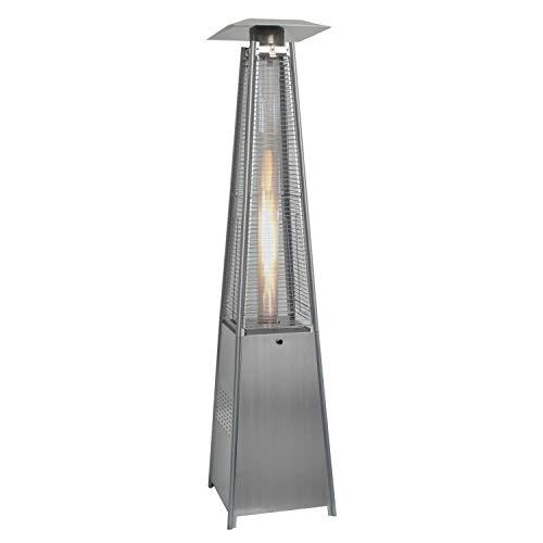 Schwarze Furniture Quartz Glass Tube Real Flame 13KW Gas Garden Outdoor Patio Heater