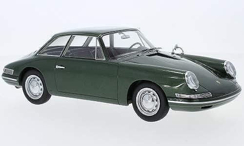 Porsche 754 T7 Prougeotype, Metallic-Grã¼n, 1959, Voiture Miniature, Miniature déjà montée, AutoCult 1 18