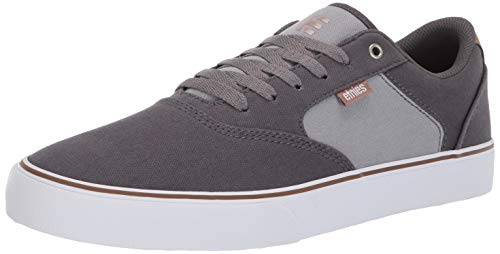 Etnies ETNAB Herren Blitz Skateboardschuhe, (Grey/Light Grey 076), 45.5 EU