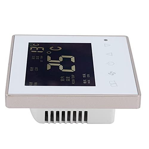 Moshuo Termostato Intelligente, termostato Elettrico multimodale ad Alta precisione per Camera da Letto, Soggiorno, Ingresso, Sala da Pranzo