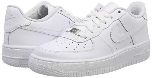 Nike Mens Air Force 1 Low Sneaker, Adult, White/White, 10.5 M US