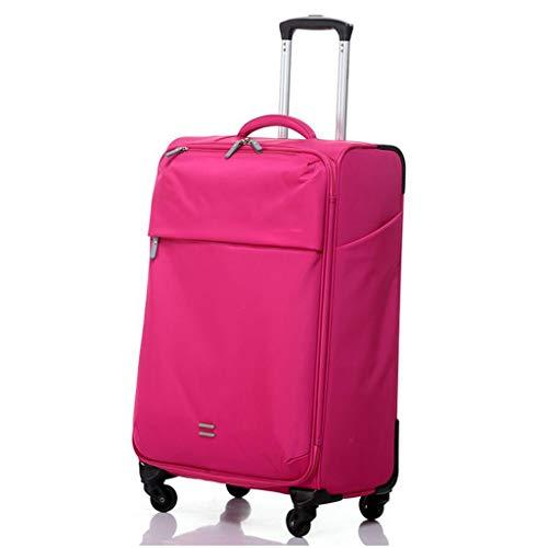 Koffer Rose Red bagagewagen, waterafstotend, hoge capaciteit, universeel, wachtwoord, reizenzending, unisex MUJIN