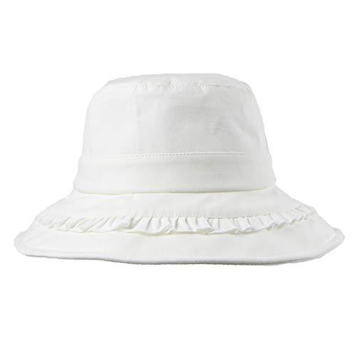 DOLDOA Hut Damen Sommer,Frauen Frühling und Sommer Hut Faltbare breiter Krempe Floppy Cap Sun Fisherman Hut (MehrfarbigA)