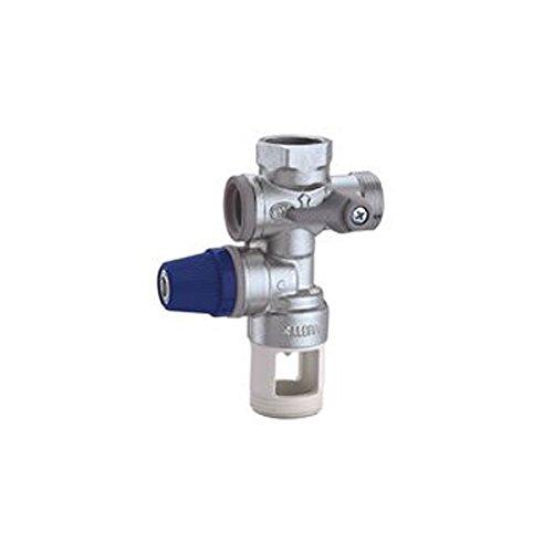 Caleffi 526152 - Unidad de seguridad de caldera y batería con válvula de cierre y válvula direccional controlable, 10 kW, 3/4''