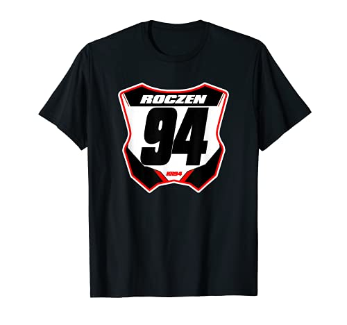 Placa de matrícula de moto de suciedad Camiseta