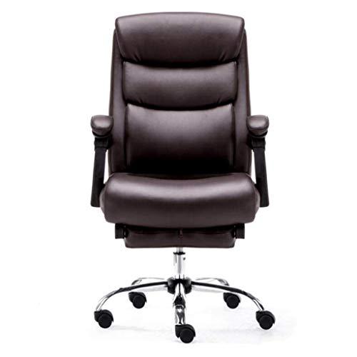 N/Z Daily Equipment Bürostuhl mit Fußstütze Hohe Rückenlehne 360 Grad;Drehbare Schreibtischstühle Höhen- und Neigungswinkel einstellbar