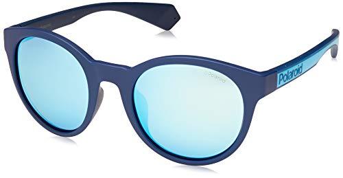 Polaroid Eyewear Pld 6063/G/S Occhiali da sole Unisex Adulto, Blue 52