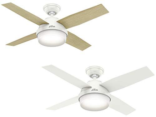 Hunter Fan Company 59246 44 Indoor Dante Ceiling Fan with Light, White