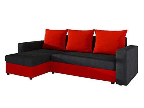 Ecksofa Couch –  günstig Mirjan24 Top  Microfaser 07 kaufen  Bild 1*