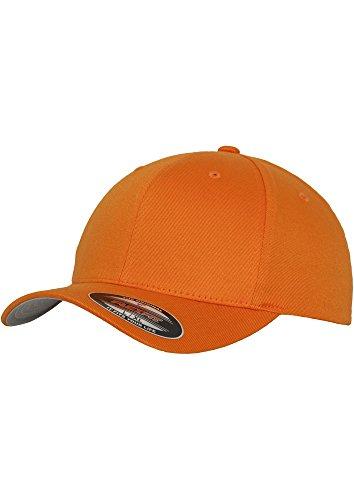 Original FLEXFIT Baseball Cap in versch. Farben (S/M - bis 58 cm, Spicy Orange) S/M - bis 58 cm,Spicy Orange
