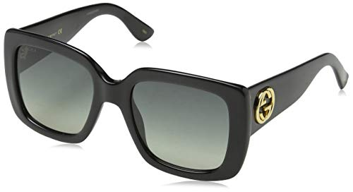 [category] Gucci GG0141S 001 Black GG0141S Square Sunglasses Lens Category
