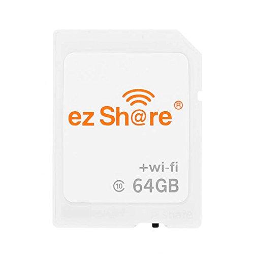 MASUNN Ez Share 4ª Generación De 64Gb C10 WiFi Tarjeta De Memoria Inalámbrica
