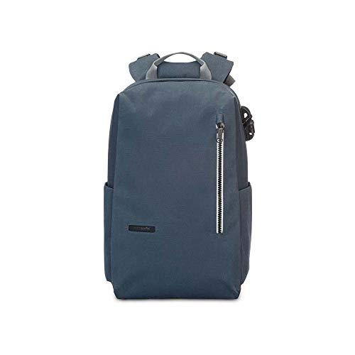 Pacsafe - Intasafe Backpack, Rucksack mit Anti-Diebstahl Details für Damen und Herren, Daypack mit Diebstahlschutz, Tasche mit Sicherheits-Features, 20L, Marine Blau / Navy