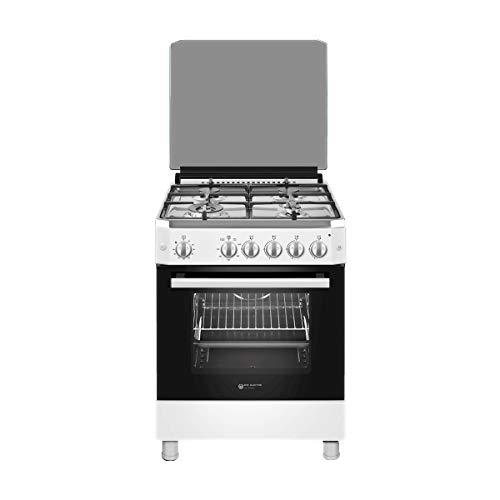 EAS ELECTRIC SMART TECHNOLOGY - Cocina de Gas 60 cm Blanca - EFG660W