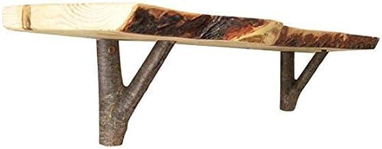 Plankbeugels 2X Driehoek Goud Zwevend 3 Inch Industriële Moderne Ijzeren Muur Zwevende Decoratieve Woonkamer Keuken met Sc...