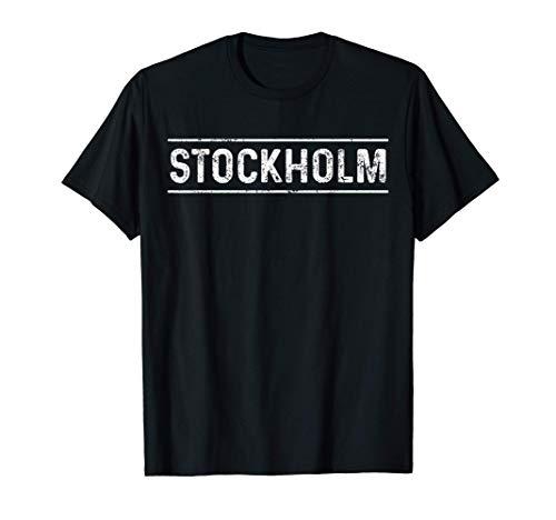 Schweden Stockholm Sweden Fahne Land T-Shirt