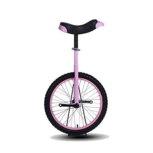 Einrad, Kinder und Erwachsene, Höhenverstellbar, Effektiv Schlupf Verhindern, Verschleißfest Stark und Langlebig Einrad für Kinder, Balance Radfahren Mit Rutschfesten Pedalen und Reifen