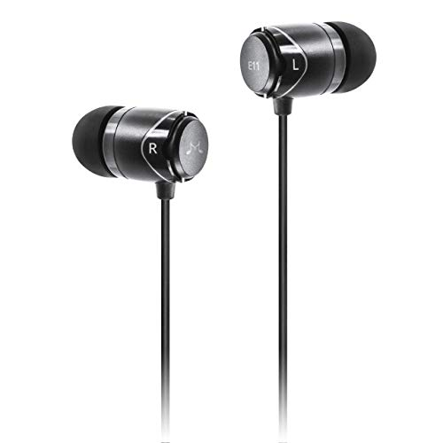 SoundMAGIC E11 High Fidelity Kopfhörer Smartphone Earbuds In Ear Kopfhörer Hochwertige Ohrhörer mit Noise Reduction - Schwarz