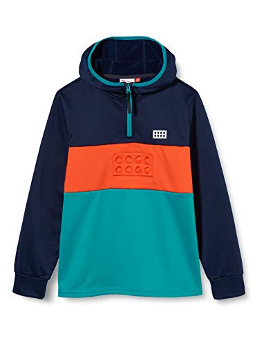 LEGO Wear Lwsinclair-Sweatshirt Mit Fleecefutter Sudadera, 590 Azul Marino Oscuro, 152 Unisex Adulto