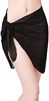 Sythyee Women's Swimsuit Cover Up (various sizes in Black)