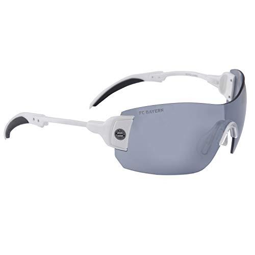 FC Bayern München FCB Brille   Sonnenbrille   Sportbrille   weiß