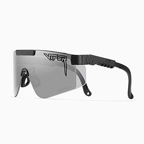 Gafas De Sol Pitviper para Hombre Mujer Lente Z87 Gafas Deportivas con Protección UV400 para Ciclismo Al Aire Libre A Prueba De Viento, Béisbol, Pesca, Golf, Gafas,3