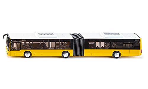 siku 3736 Bus articulado, Neumáticos de goma, Puertas funcionales, 1:50, Metal/Plástico, Amarillo