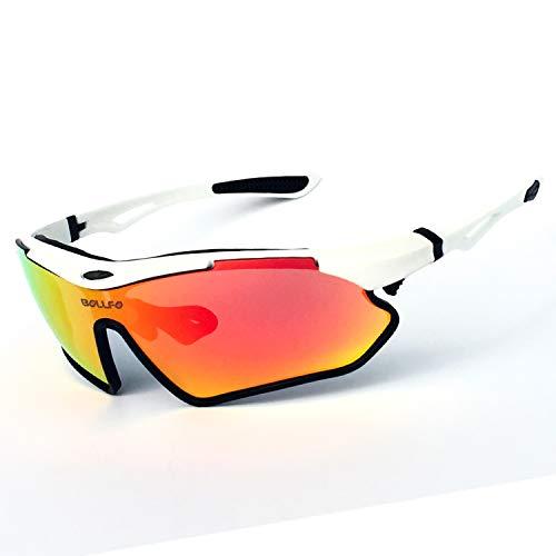 Gafas de sol deportivas polarizadas, gafas de sol de ciclismo para hombres y mujeres, diadema reemplazable, montura de miopía extraíble, para gafas de ciclismo para correr-Style3