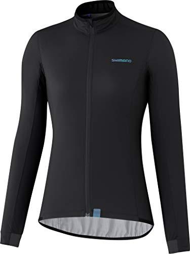 Madison Veste de cyclisme Shimano pour femme Noir Taille XL