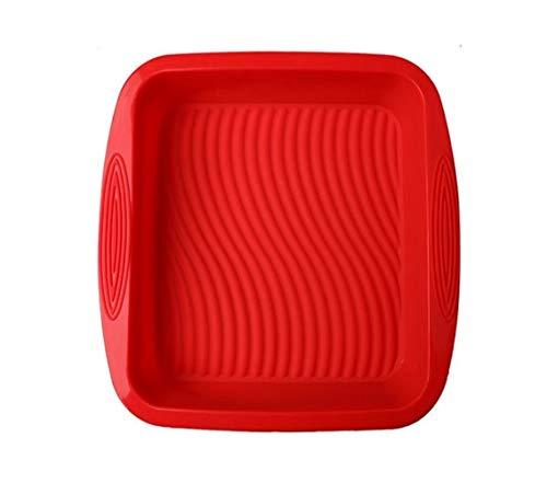 QYXJJ Ycake Silikon Kuchenform Runde Backform Silicone Cake Moulds Silikon-Kuchenform Tortenbodenform Antihaft-Backformen Pfanne zufällige Farbe