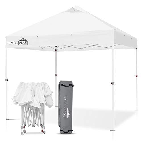 EAGLE PEAK 10' x 10' Commercial Canopy Tent Pop Up Instant...