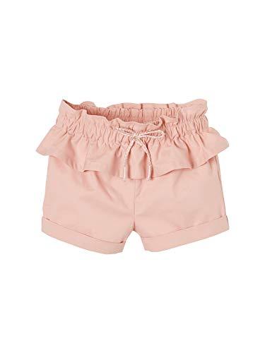 Vertbaudet Baby Mädchen Shorts mit Volant pfirsich 68