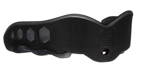 Shock Doctor Gel Max Convertible Mouth Guard, Black, Adult
